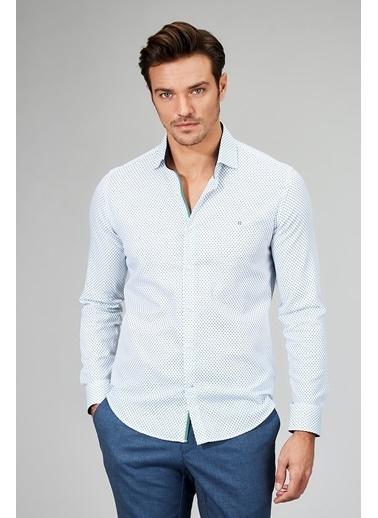 Slim Fit Uzun Kollu Gömlek-Avva